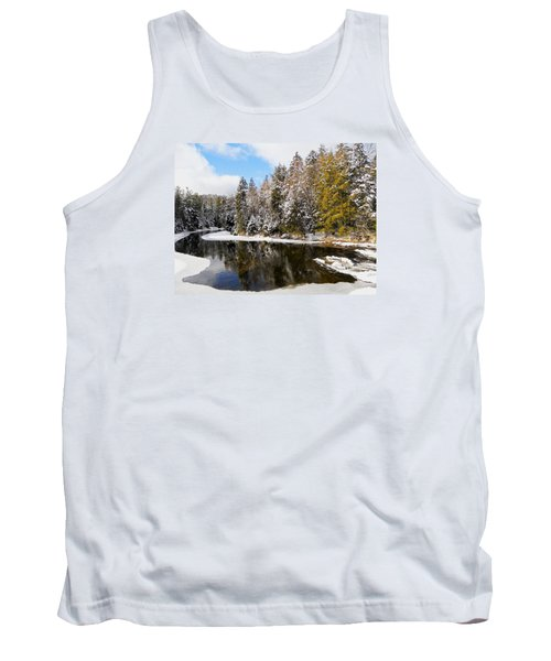 Tank Top featuring the photograph Winter Impressions ... by Juergen Weiss