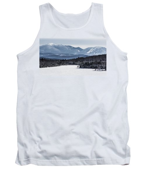 Winter Mountains Tank Top by Tim Kirchoff