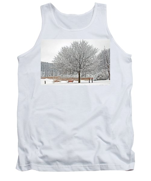 Winter Park Tank Top by Aimee L Maher Photography and Art Visit ALMGallerydotcom
