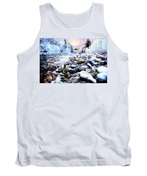 Winter River Tank Top