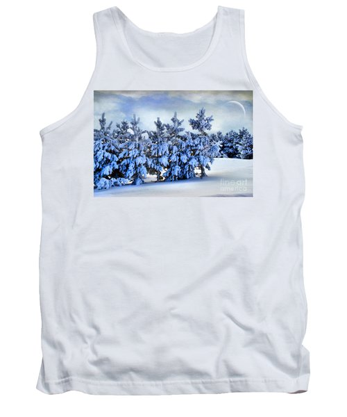 Winter Serenity  Tank Top