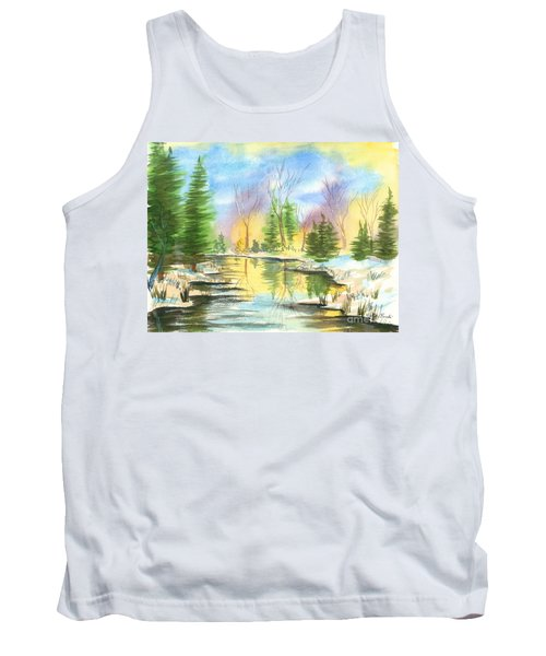 Winter Stillness Tank Top