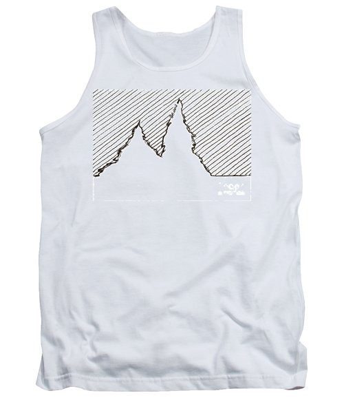 Winter Trees 2 - Aceo Tank Top