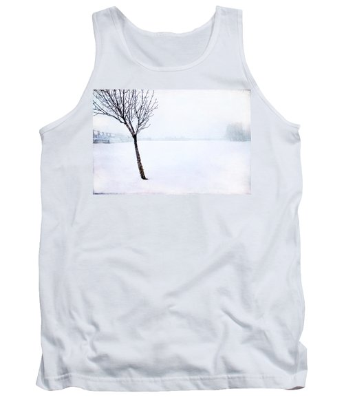 Winter Whiteout Tank Top