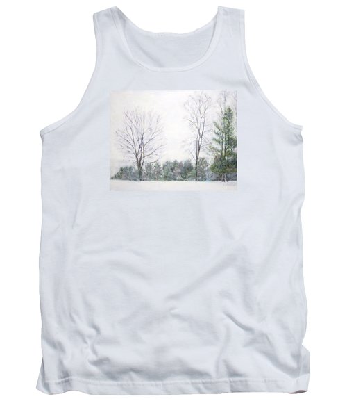 Winter Wonderland Usa Tank Top