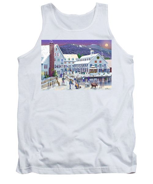 Wintertime At Waterville Valley New Hampshire Tank Top by Nancy Griswold