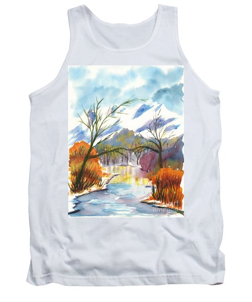 Wintry Reflections Tank Top