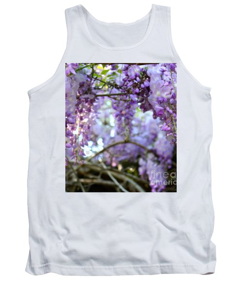 Wisteria Dream Tank Top by Cathy Dee Janes
