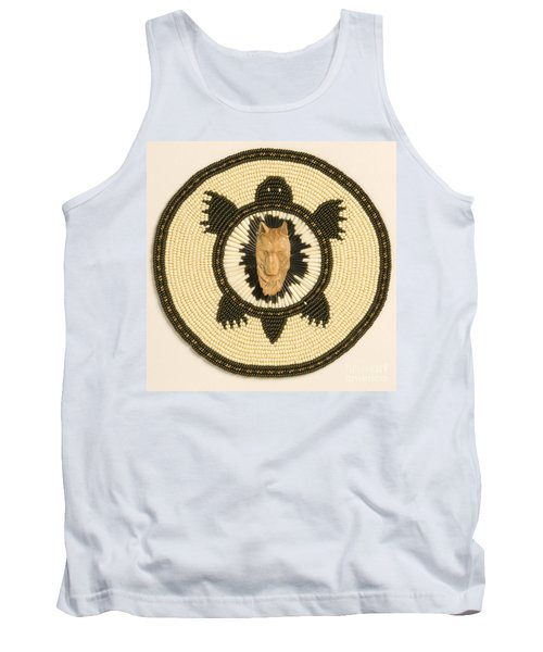 Wolf Turtle Tank Top