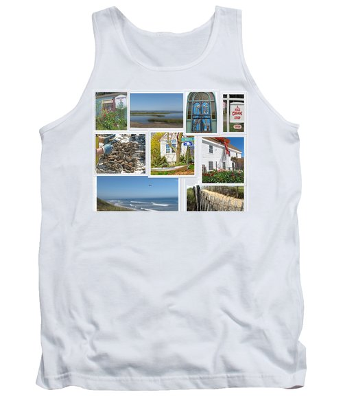 Tank Top featuring the photograph Wonderful Wellfleet by Barbara McDevitt