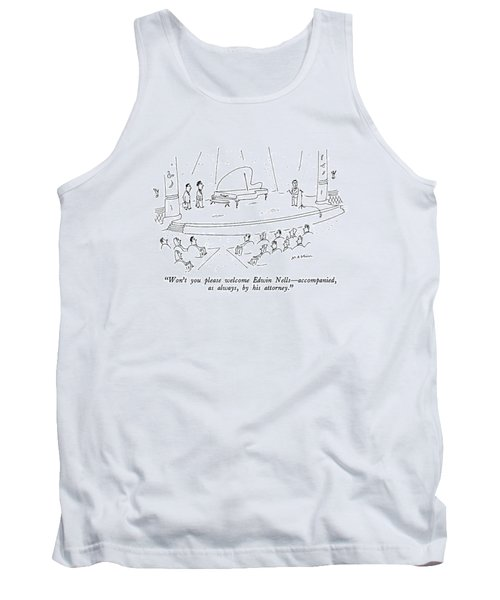 Won't You Please Welcome Edwin Nells - Tank Top