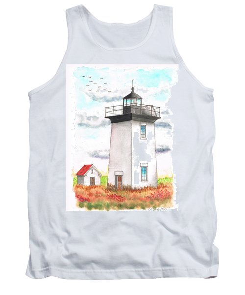 Wood End Lighthouse - Massachusetts Tank Top