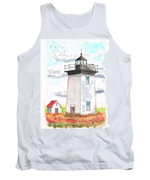 Wood End Lighthouse - Massachusetts Tank Top