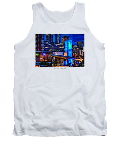 World Of Coca Cola Poster Tank Top