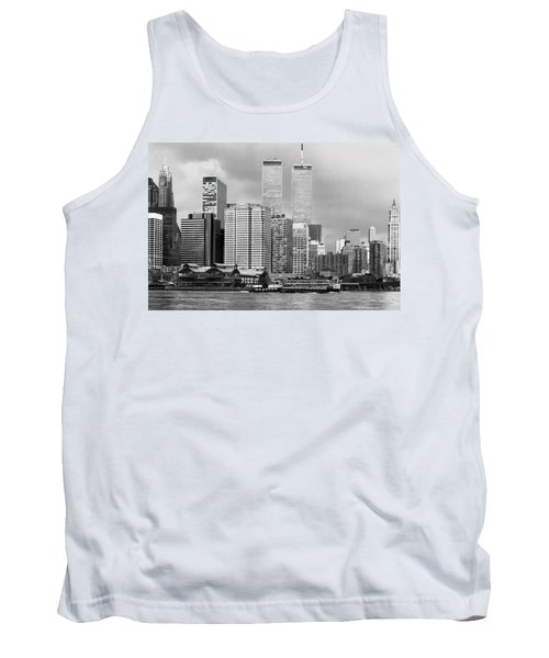 New York City - World Trade Center - Vintage Tank Top