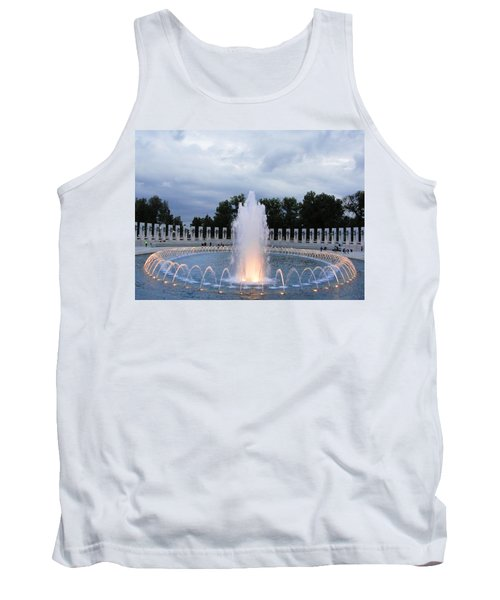 World War II Memorial Fountain Tank Top