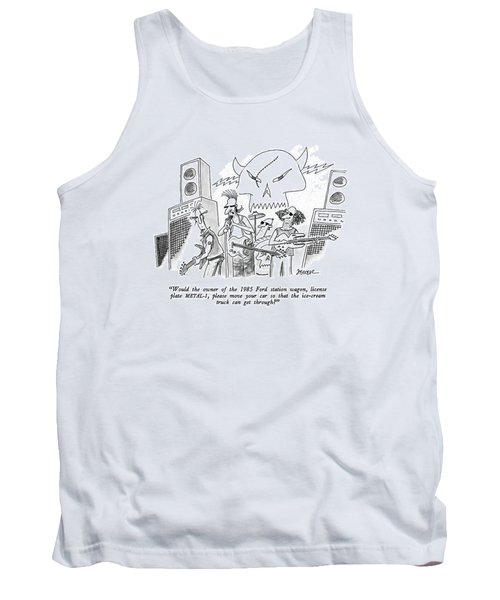Would The Owner Of The 1985 Ford Station Wagon Tank Top