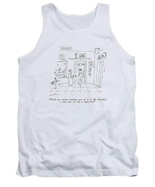 Would You Consider Donating Your Car Tank Top