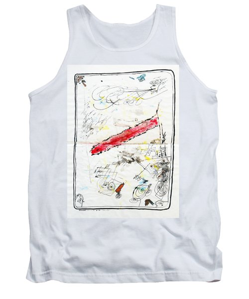 Wounded Verwundet Tank Top