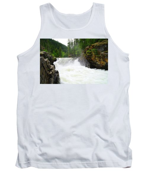 Yaak Falls Tank Top by Jeff Swan