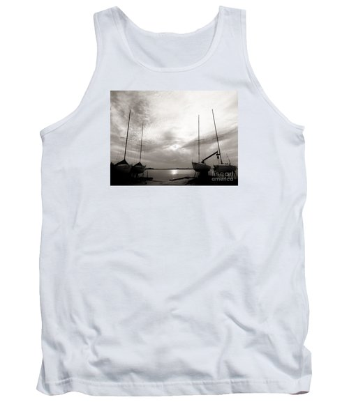 Cirrus Effect Tank Top