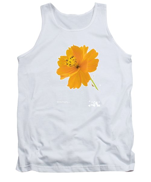 Yellow Coreopsis Tank Top
