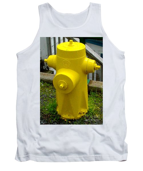 Yellow Hydrant Tank Top