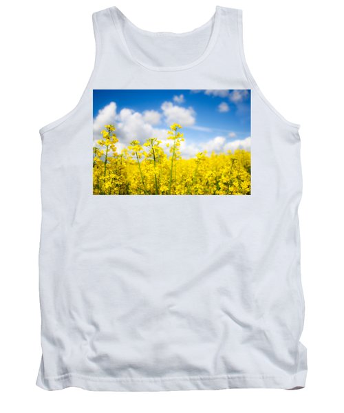 Yellow Mustard Field Tank Top