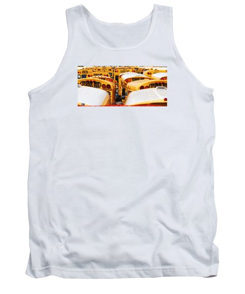 Yellow School Bus Tank Top