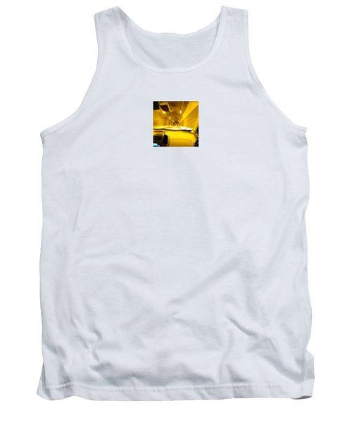 Yellow Tubes Tank Top