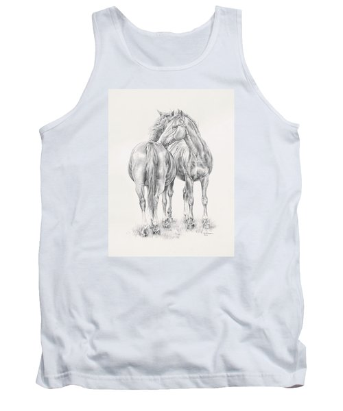 You Scratch My Back I'll Scratch Yours Tank Top by Kim Lockman