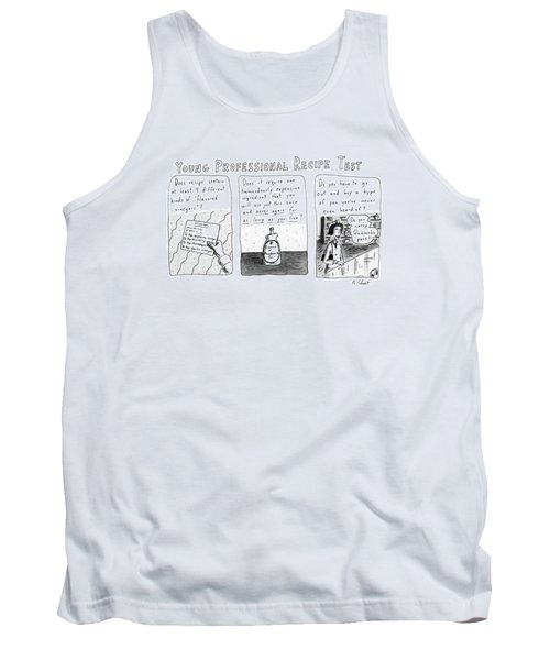 Young Professional Recipe Test Tank Top