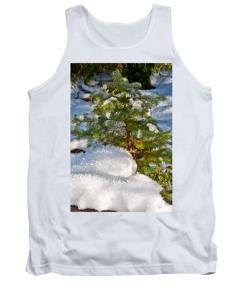 Young Winter Pine Tank Top