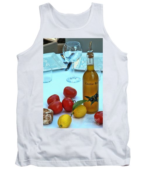 Tank Top featuring the photograph Your Table Is Ready by Allen Beatty