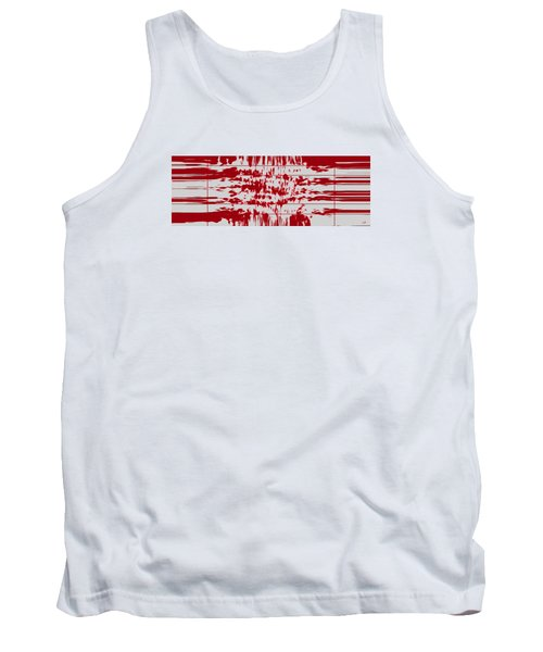 Your Thoughts Are Feeding His Soul  Tank Top by Sir Josef - Social Critic -  Maha Art
