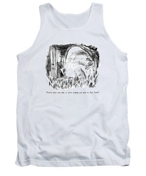 You've Been Very Bad Tank Top