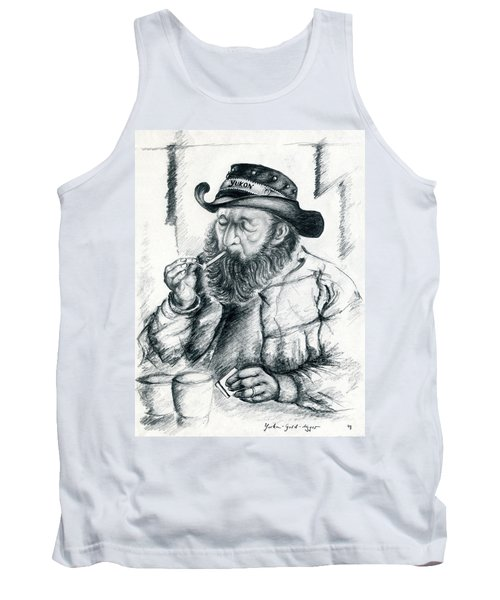 Alaska Gold Digger - Pencil Drawing Tank Top