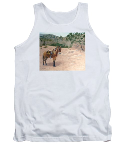 Zachary The Mule Tank Top
