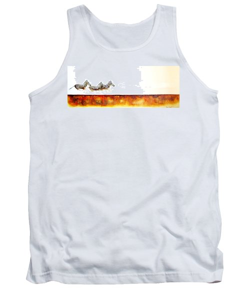 Zebra Crossing - Original Artwork Tank Top