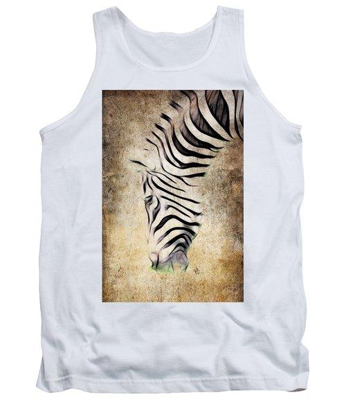 Zebra Fade Tank Top