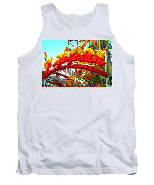 Tank Top featuring the photograph Zipper  by Marianne Dow