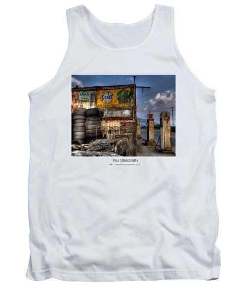 Full Service Days Tank Top by Beverly Cash