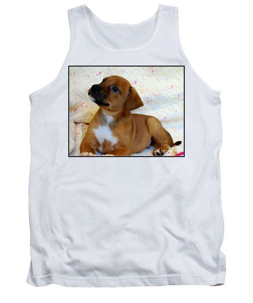Tank Top featuring the photograph   Take Me Home Please by Peggy Franz