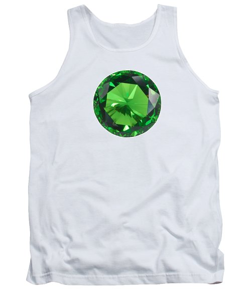 Emerald Isolated Tank Top
