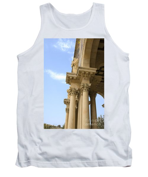 facade of Church of all Nations Jerusalem Tank Top