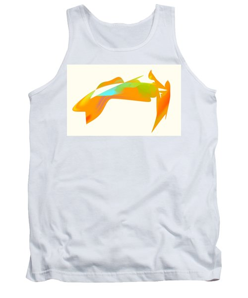 Falcon Pond Tank Top by Kevin McLaughlin