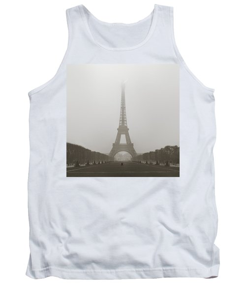 Foggy Morning In Paris Tank Top
