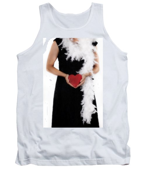 Lady With Heart Tank Top