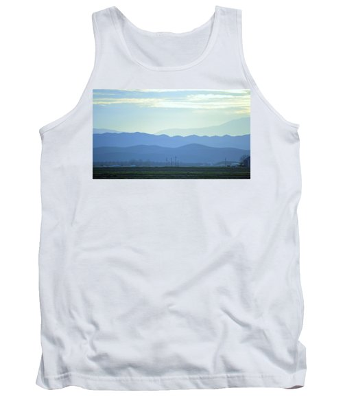 Tank Top featuring the photograph Layers by Rima Biswas