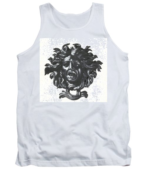 Medusa Head Tank Top by Photo Researchers